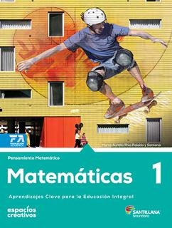 MATEMATICAS 1 SECUNDARIA (ESPACIOS CREATIVOS)