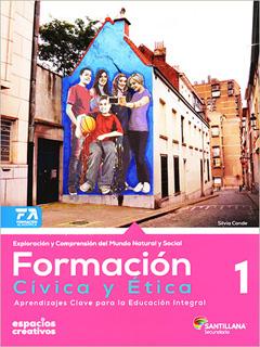 FORMACION CIVICA Y ETICA 1 SECUNDARIA (ESPACIOS CREATIVOS)