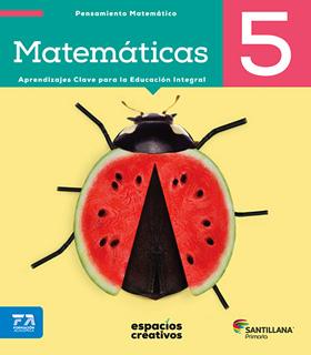 MATEMATICAS 5 PRIMARIA (ESPACIOS CREATIVOS)