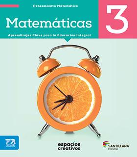 MATEMATICAS 3 PRIMARIA (ESPACIOS CREATIVOS)