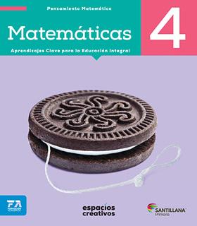 MATEMATICAS 4 PRIMARIA (ESPACIOS CREATIVOS)