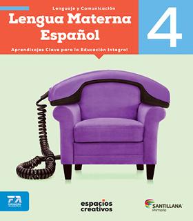 LENGUA MATERNA ESPAÑOL 4 PRIMARIA (ESPACIOS...