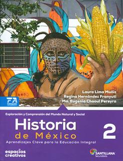 HISTORIA DE MEXICO 2 SECUNDARIA (ESPACIOS...
