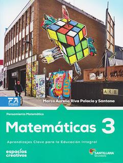 MATEMATICAS 3 SECUNDARIA (ESPACIOS CREATIVOS)