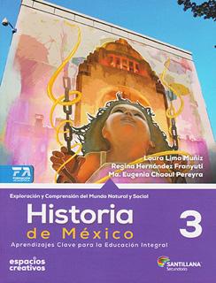 HISTORIA DE MEXICO 3 SECUNDARIA (ESPACIOS...