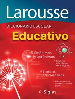 DICCIONARIO ESCOLAR EDUCATIVO (SINONIMOS Y...