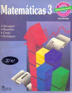 MATEMATICAS 3 SECUNDARIA