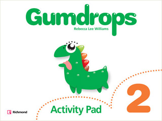 GUMDROPS 2 ACTIVITY PAD