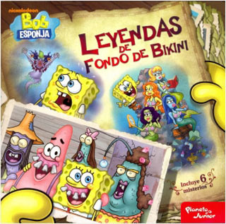 BOB ESPONJA: LEYENDAS DE FONDO DE BIKINI