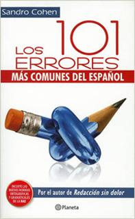 LOS 101 ERRORES MAS COMUNES DEL ESPAÑOL