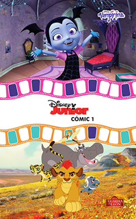 DISNEY JUNIOR COMIC 1: VAMPIRINA - LA GUARDIA DEL REY LEON
