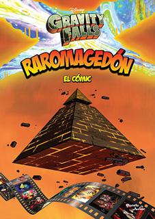 GRAVITY FALLS: RAROMAGEDON (EL COMIC)