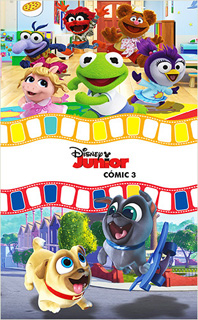 DISNEY JUNIOR COMIC 3: MUPPETS - PUPPY DOG PALS