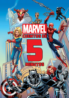 MARVEL CUENTOS DE 5 MINUTOS