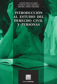 INTRODUCCION AL ESTUDIO DEL DERECHO CIVIL Y PERSONAS