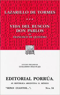LAZARILLO DE TORMES - VIDA DEL BUSCON DON PABLOS
