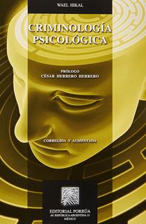 CRIMINOLOGIA PSICOLOGICA