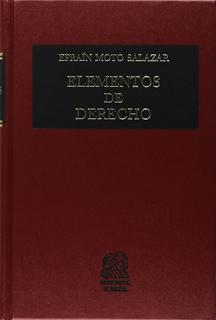 ELEMENTOS DE DERECHO
