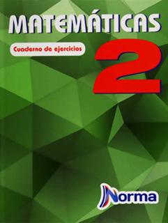 MATEMATICAS 2 CUADERNO DE EJERCICIOS SECUNDARIA