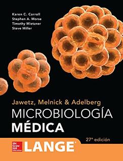 JAWETZ, MELNICK & ADELBERG: MICROBIOLOGIA MEDICA