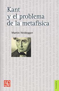 KANT Y EL PROBLEMA DE LA METAFISICA