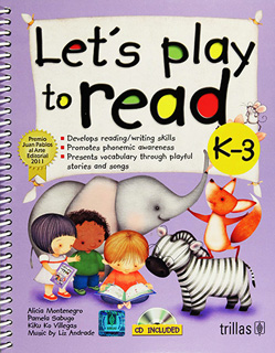 LETS PLAY TO READ K 1(INCLUDE CD)