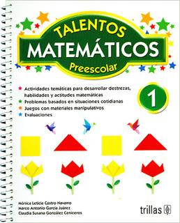 TALENTOS MATEMATICOS 1 PREESCOLAR