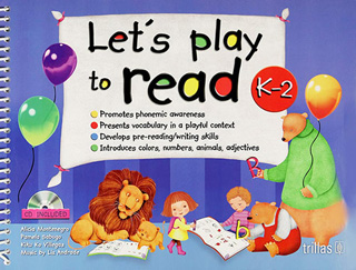 LETS PLAY TO READ K 2 (INCLUDE CD)