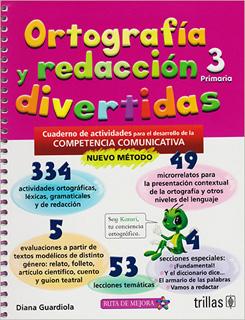 ORTOGRAFIA Y REDACCION DIVERTIDA 3 PRIMARIA