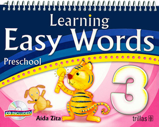 LEARNING EASY WORDS 3 PRESCHOOL (INCLUYE CD)