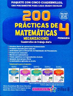 200 PRACTICAS DE MATEMATICAS 4 PRIMARIA