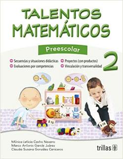 TALENTOS MATEMATICOS 2 PREESCOLAR