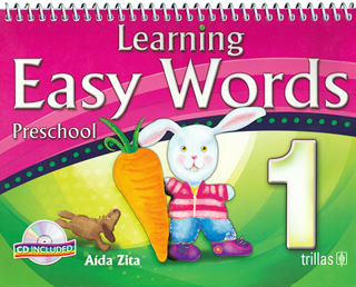 LEARNING EASY WORDS 1 PRESCHOOL (INCLUYE CD)