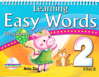 LEARNING EASY WORDS 2 PRESCHOOL (INCLUYE CD)