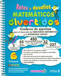RETOS Y DESAFIOS MATEMATICOS DIVERTIDOS 6 PRIMARIA