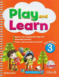 PLAY AND LEARN 3 PRESCHOOL (INCLUDE CD)