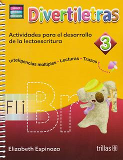 DIVERTILETRAS 3: ACTIVIDADES PARA EL DESARROLLO...