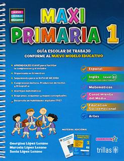 MAXI PRIMARIA 1 PAQUETE (INCLUYE EVALUACIONES...
