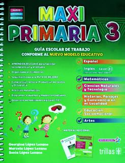 MAXI PRIMARIA 3 PAQUETE (INCLUYE EVALUACIONES...
