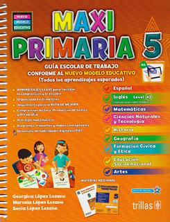 MAXI PRIMARIA 5 PAQUETE (INCLUYE EVALUACIONES...
