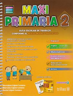 MAXI PRIMARIA 2 PAQUETE (INCLUYE EVALUACIONES...