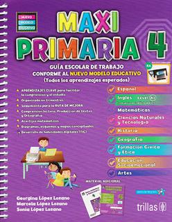 MAXI PRIMARIA 4 PAQUETE (INCLUYE EVALUACIONES...