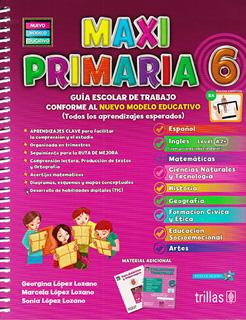 MAXI PRIMARIA 6 PAQUETE (INCLUYE EVALUACIONES...