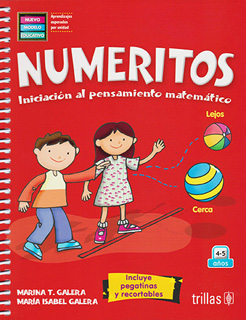 NUMERITOS (INCLUYE PEGATINAS Y RECORTABLES)