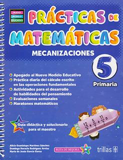 PRACTICAS DE MATEMATICAS 5: MECANIZACIONES