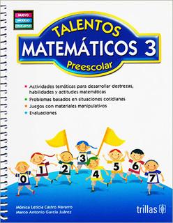 TALENTOS MATEMATICOS 3 PREESCOLAR