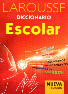 DICCIONARIO ESCOLAR (ROJO)