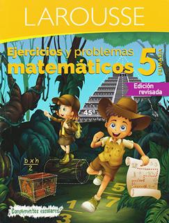 EJERCICIOS Y PROBLEMAS MATEMATICOS 5 PRIMARIA