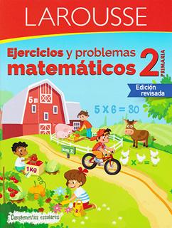 EJERCICIOS Y PROBLEMAS MATEMATICOS 2 PRIMARIA