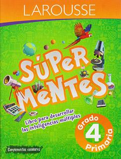 SUPER MENTES 4 PRIMARIA